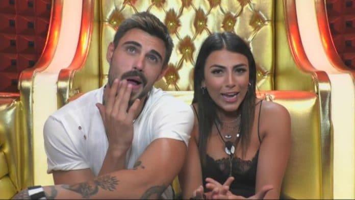 Francesco Monte e Giulia Salemi scherzano al Grande Fratello 16