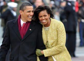 Barack Obama e Michelle risata complice