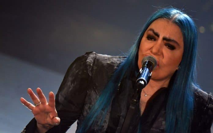 Loredana Berté canta