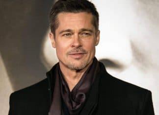 Brad Pitt in cappotto