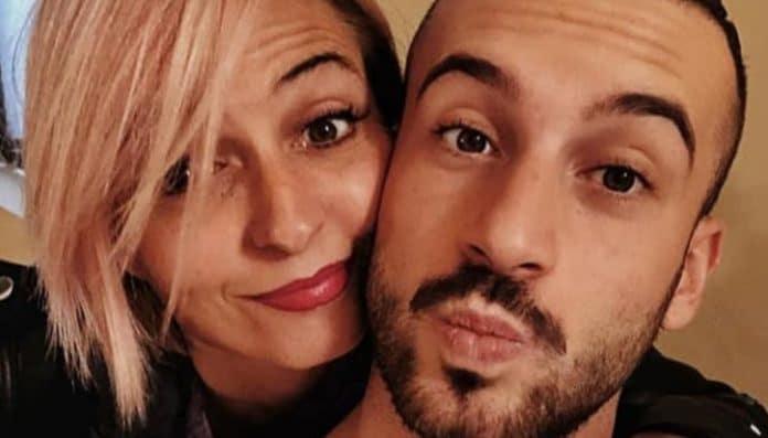 Veronica Peparini e Andreas Muller fanno le boccacce