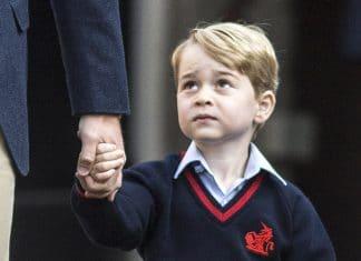 George d'Inghilterra va a scuola