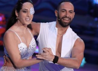 Gessica Notaro balla a Ballando con le Stelle con Stefano Oradei