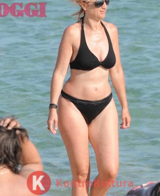 Luciana Littizzetto in costume fisico perfetto, spunta lo scatto dal passato