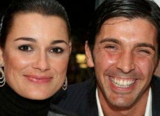 Alena Seredova con Gigi Buffon