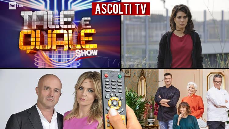 Ascolti tv 27 settembre: Francesco Monte eTale e Quale Show sbaragliano, bene Rosy Abate. Barbara D'Urso schiaccia La vita in diretta
