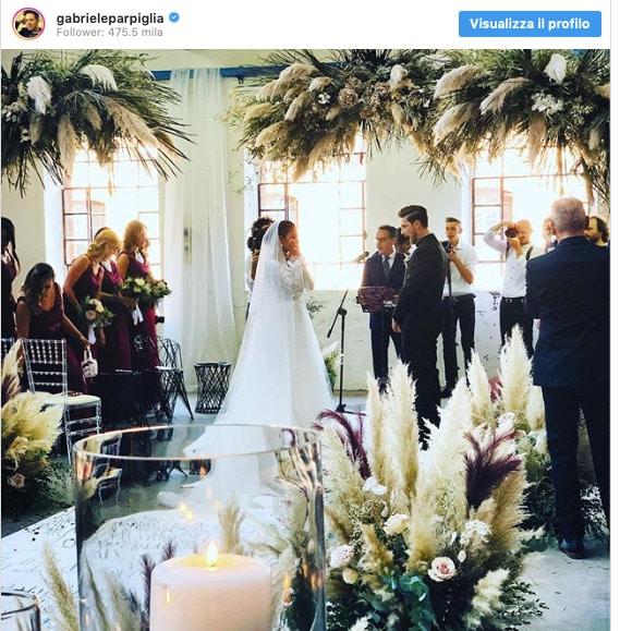 Georgette Polizzi nozze