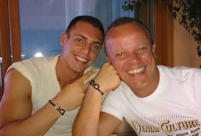 Giggi D'Alesiio e Claudio