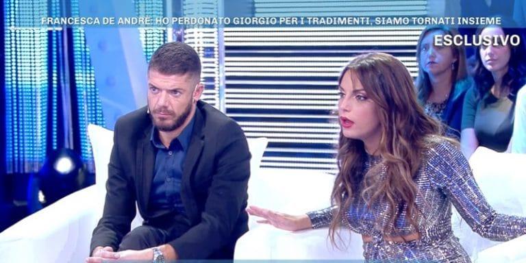 Francesca De Andrè shock a Domenica Live: 'Contro me e Giorgio c'è stato un complotto'