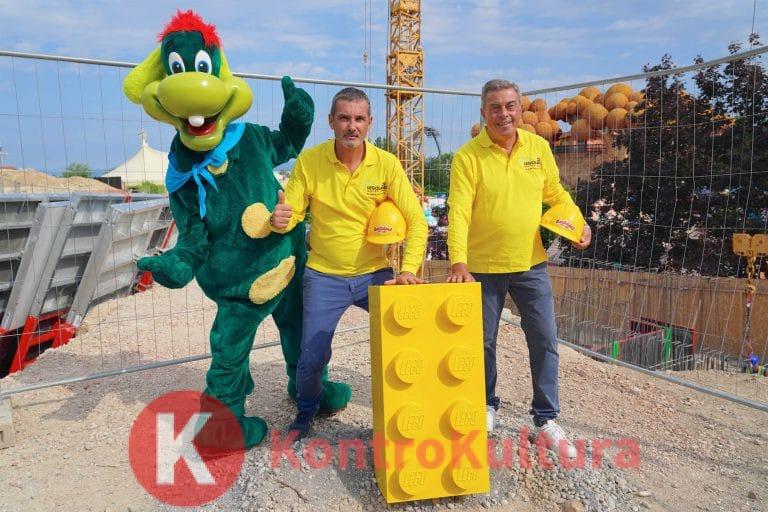 LEGOLAND® Water Park a Gardaland: Posato il primo mattoncino LEGO®