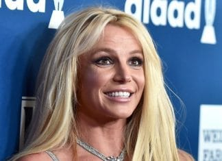 Britney Spears sorridente