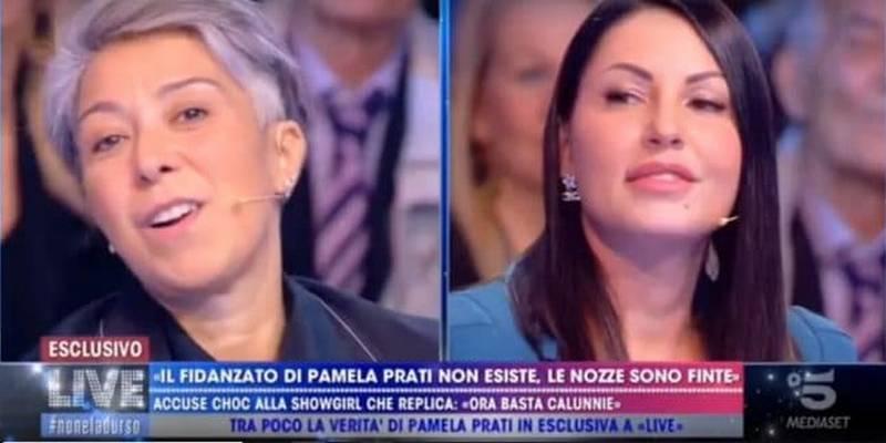 Barbara d'Urso, ex tronista contro Live: