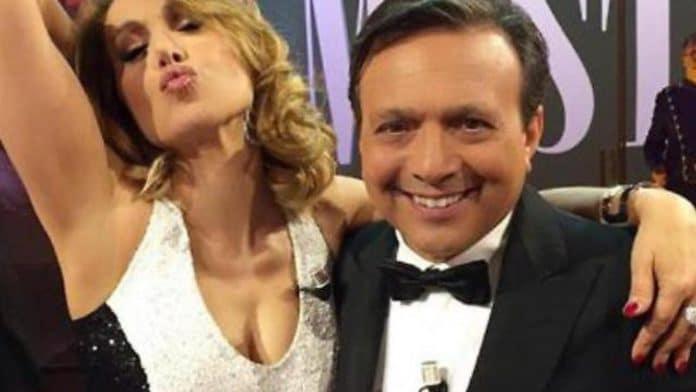 Piero Chiambretti e Barbara D'Urso