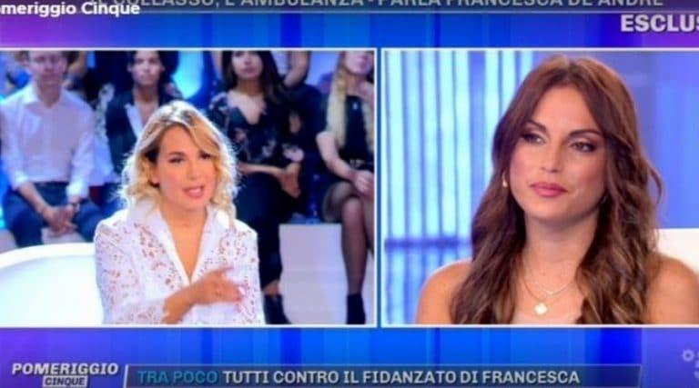 Francesca De Andrè a Pomeriggio 5 dopo il malore: 'Ho un esaurimento nervoso'