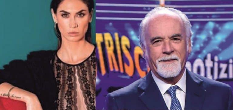 Striscia la Notizia, Melissa Satta vuota il sacco su Antonio Ricci: 'Li devi togliere, non è rispettoso…'