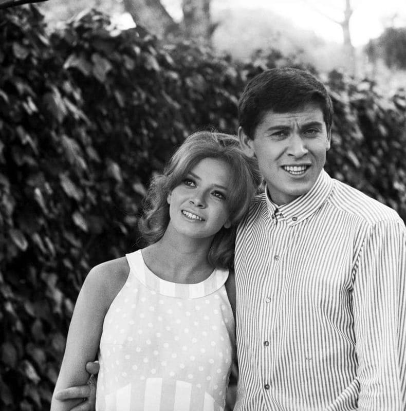 Gianni Morandi e la sua ex moglie
