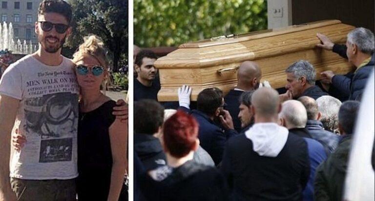 Ai funerali di Luca Sacchi, tutti stupiti dalla compagna Anastasiya. Ecco cosa è accaduto