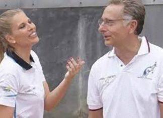 Paolo Bonolis e Laura Freddi