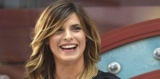 Elisabetta Canalis cambia taglio di capelli