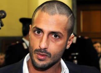 Fabrizio Corona riabbraccia il figlio Carlos a Natale