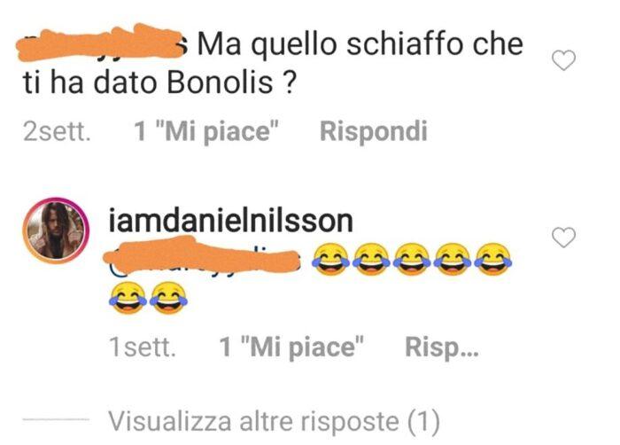 Paolo Bonolis ci ricasca, prende a schiaffi Daniel Nilsson,