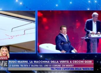 Vittorio Cecchi Gori alla macchina della verità