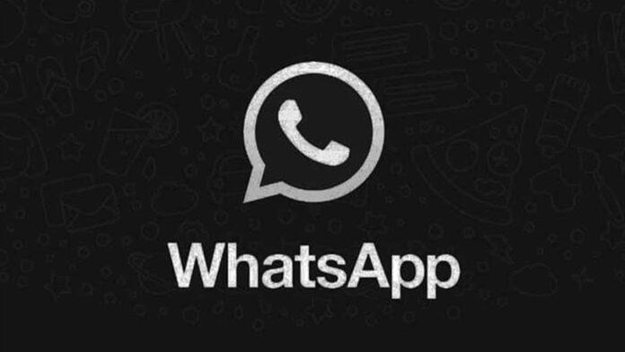 WhatsApp Tema Scuro