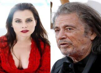 Al Pacino e la fidanzata