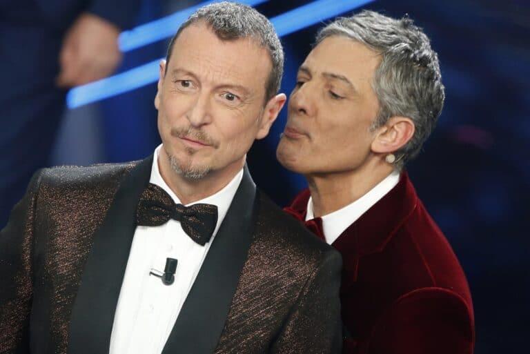Tra Amadeus e Fiorello subito dopo la finale cosa è successo? (FOTO)