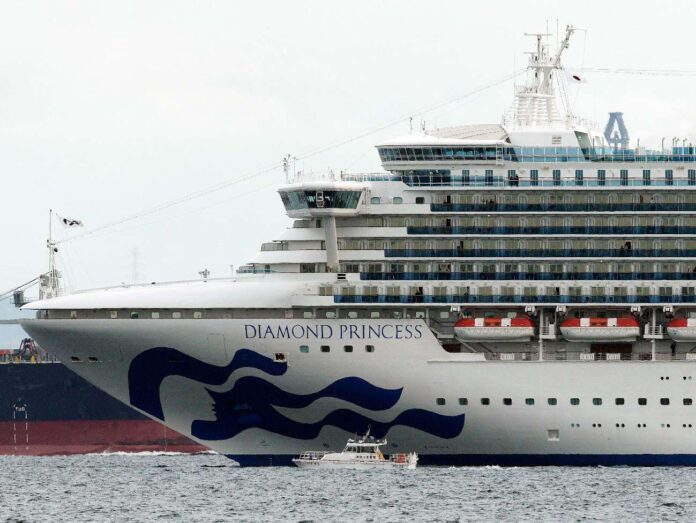Diamond Princess bloccata dal Coronavirus
