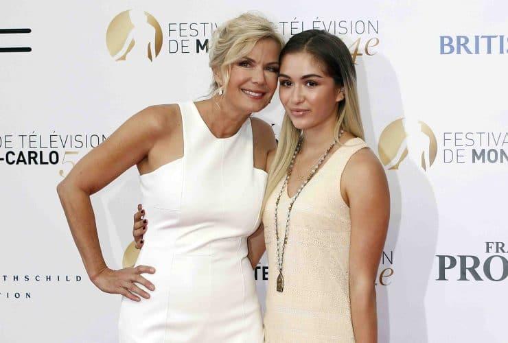 Brooke di Beautiful e sua figlia