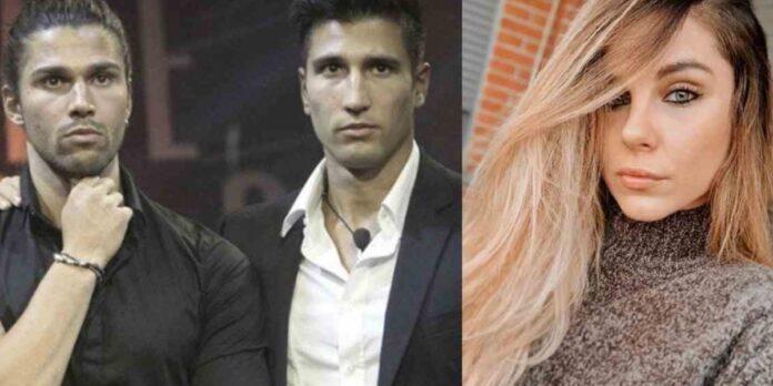 Luca e Gianmarco Onestini e Ivana Icardi