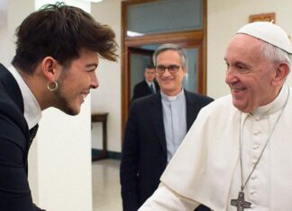 Stash e il Papa