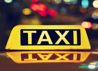 tassista malmenato