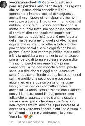 Uomini e Donne: critiche a Veronica Burchielli e Alessandro Zarino, lei ...