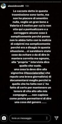 """Alessio Bruno attacca Valeria Bigella dopo 'Rivelo': """"Nessun"""