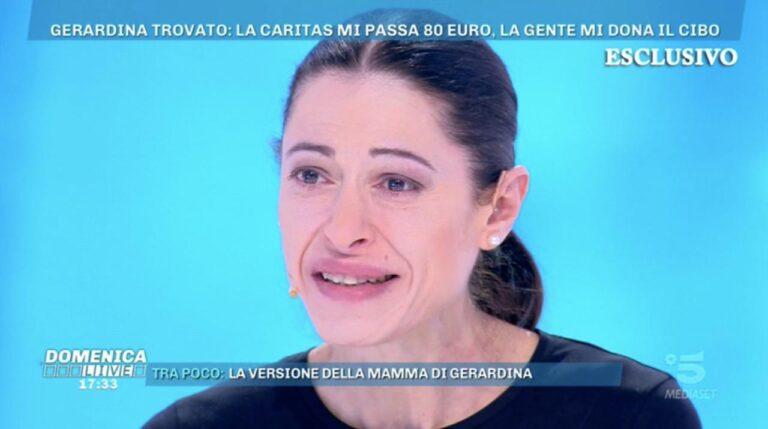 Gerardina Trovato riparte da zero grazie a Barbara D'Urso