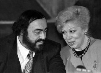 Mirella Freni con Pavarotti