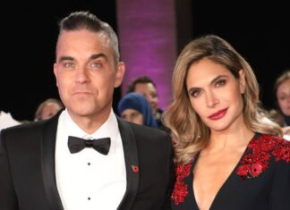 Robbie Williams e Ayda Field sono diventati genitori del quarto figlio
