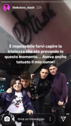 Lutto per Stash dei The Kolors: 'sono senza parole, è un dol