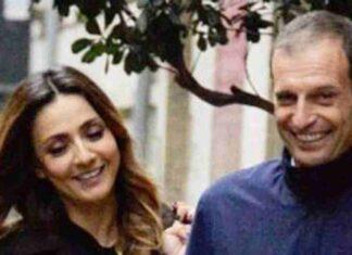 Ambra Angiolini e Massimiliano Allegri: la storia d'amore va a gonfie vele