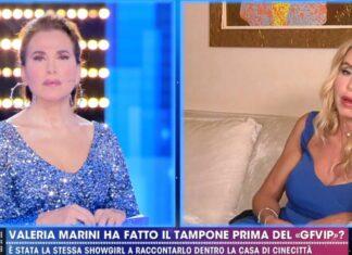Barbara D'Urso e Valeria Marini