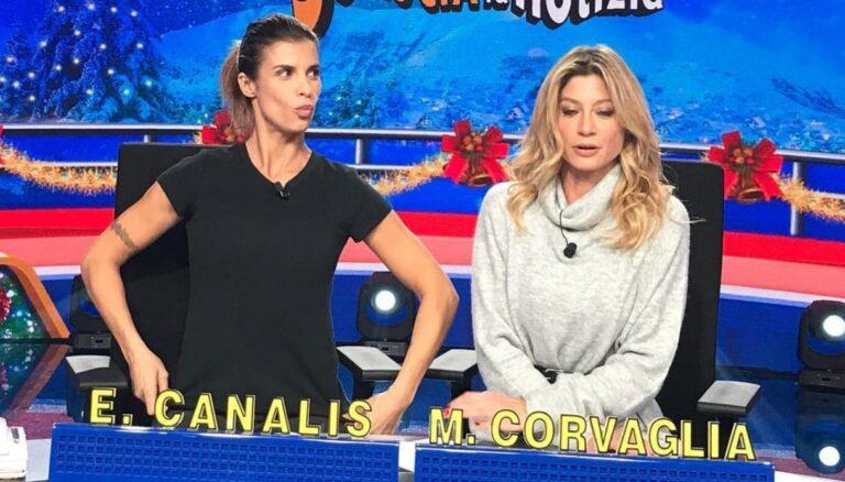 Striscia la Notizia, Elisabetta Canalis e Maddalena Corvaglia sfida a distanza: la quarantena delle ex veline [FOTO]