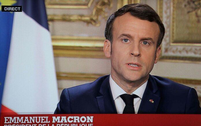 Coronavirus in Francia Macron