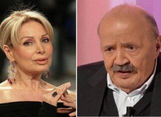 Maurizio Costanzo e Marta Flavi