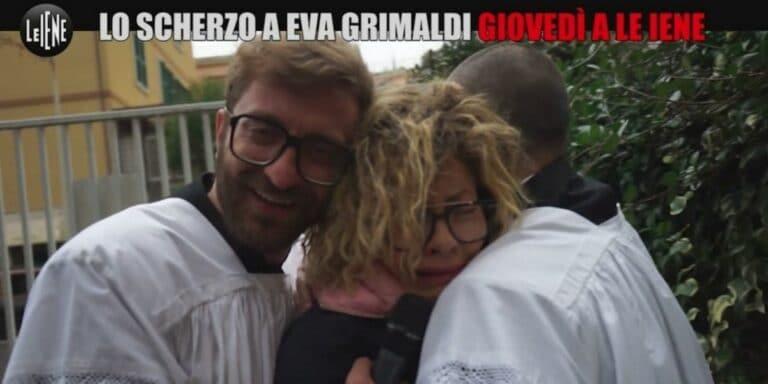 Eva Grimaldi becca Imma Battaglia a letto con un'altra, lo scherzo finisce male (VIDEO)