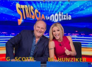 Gerry Scotti - Michelle Hunziker