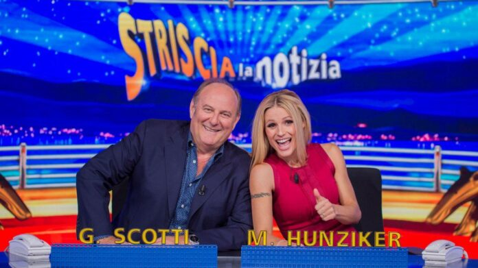 Gerry Scotti - Michelle Hunziker