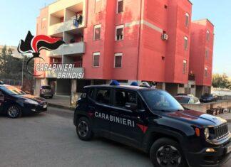 Brindisi, pattuglia dei carabinieri