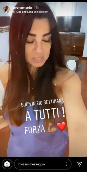 Serena Enardu su Instagram